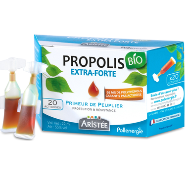 ACTIDOSES DE PROPOLIS DE PEUPLIER BIO aristee pollenergie