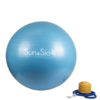 Ballon yoga bleu