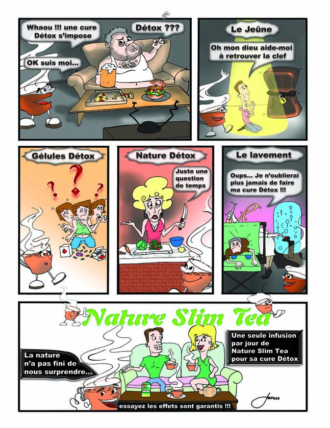 Nature Slim Tea Bande Dessiner light