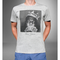 Tee-shirt Biggie Gris