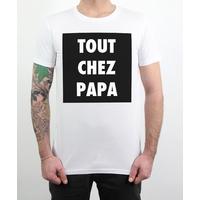 T-shirt Tout chez Papa