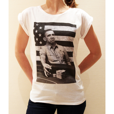 T-shirt Obama - Femme
