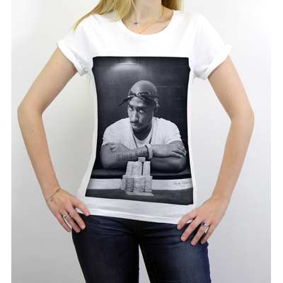 T-shirt 2Pac Femme