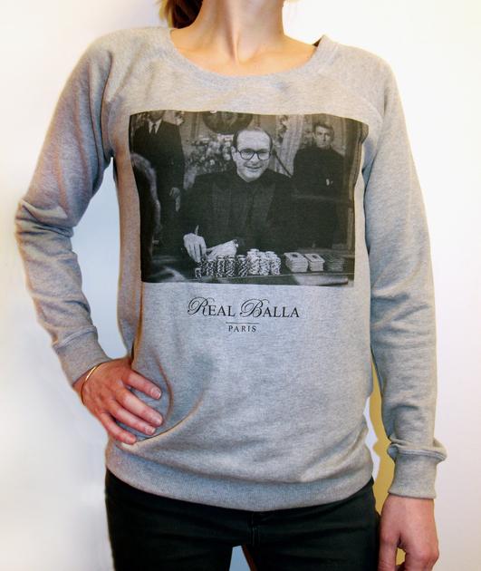 Sweat Chirac Gris Femme