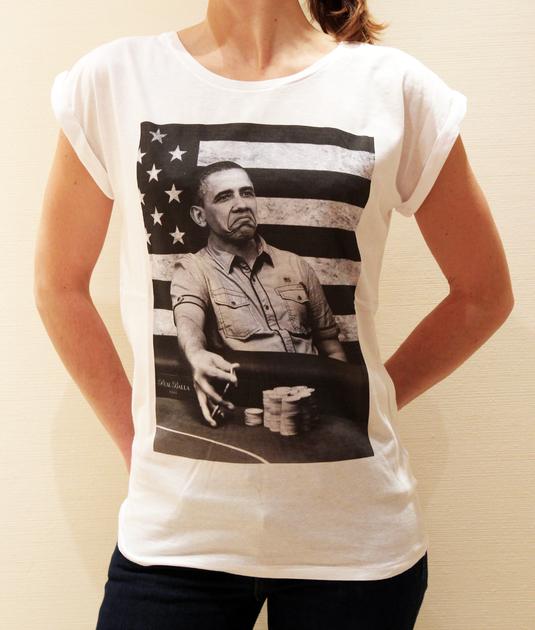 Tee femme Obama
