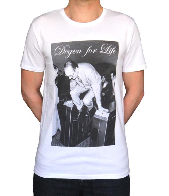 Tshirt Homme Chirac - Degen for Life