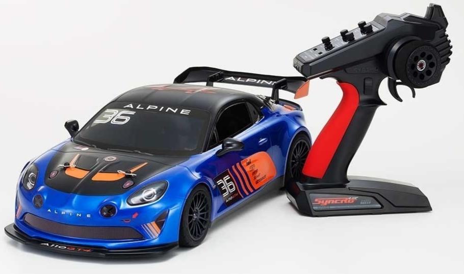 Kyosho FAZER MK2 Alpine GT4 1:10 Readyset, 34423B