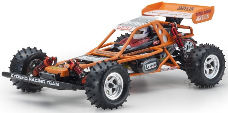 Kyosho JAVELIN 1:10 4WD KIT *LEGENDARY SERIES*, 30618