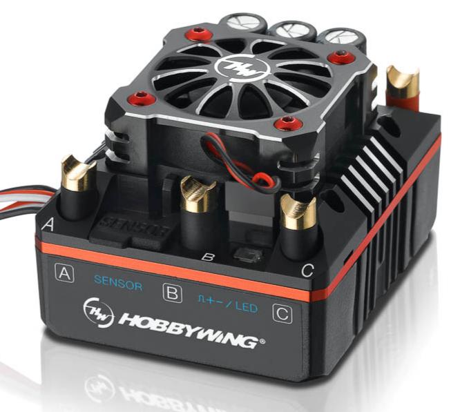 Hobbywing Xerun XR8 Plus Brushless ESC 150A, 2-6s LiPo, BEC 6A , HW30113300