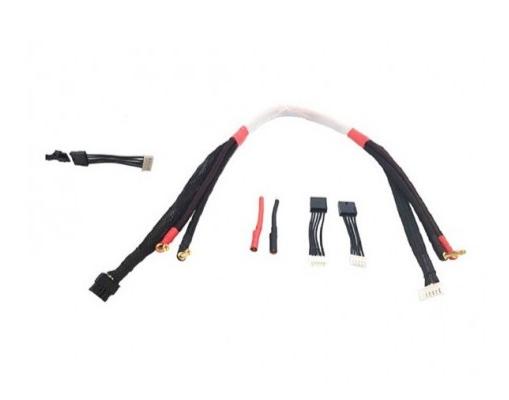 RC Concept cordon de charge 600mm prise 5 mm pour Lipo 4S, 2230001