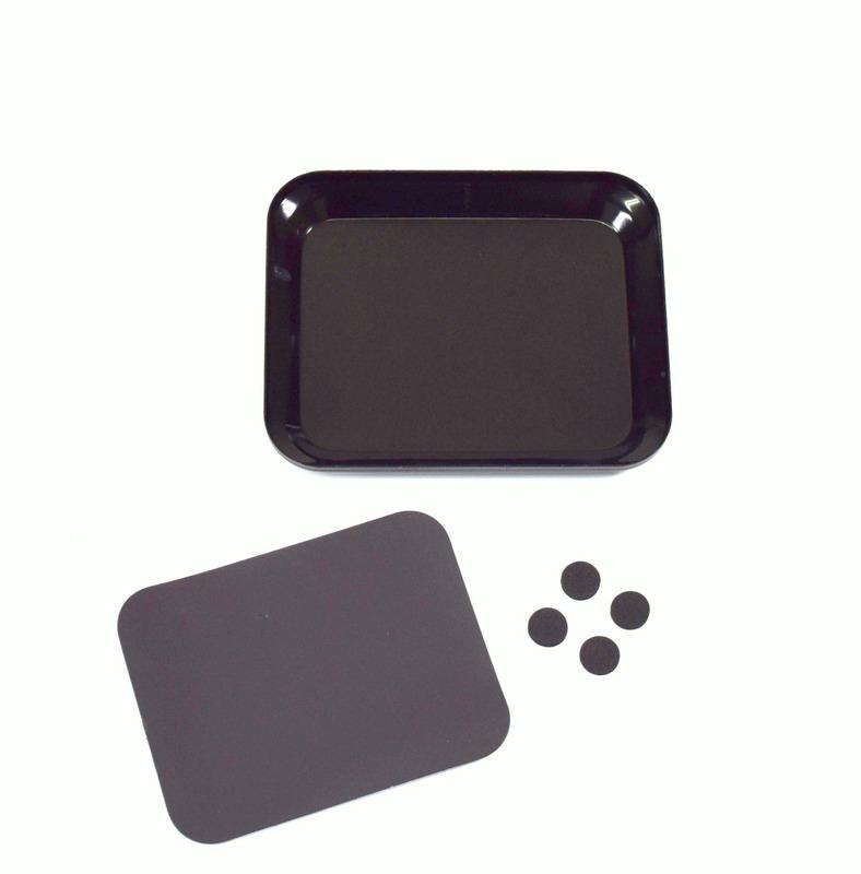 ABSIMA Coupelle magnétique pour visserie noir, 3000061