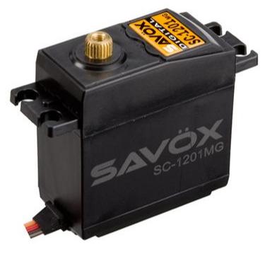 SAVOX Servo Standard SAVOX DIGITAL 25kg-0.16s, SX-SC-1201MG
