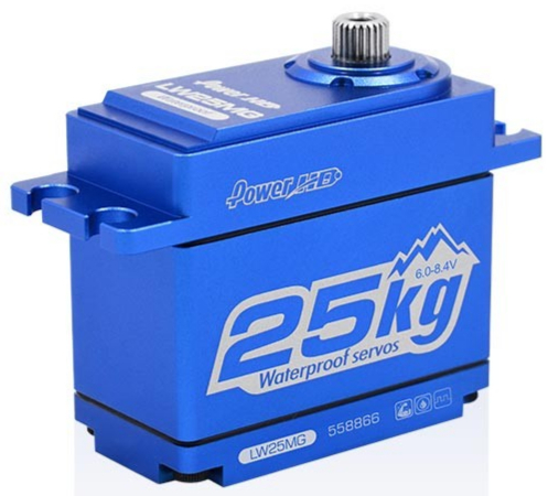 Power HD Servo LW-25MG Digital waterproof 25.0KG 0.141S, HD-LW-25MG