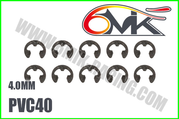 6MIK Circlips inox 4mm, PVC40