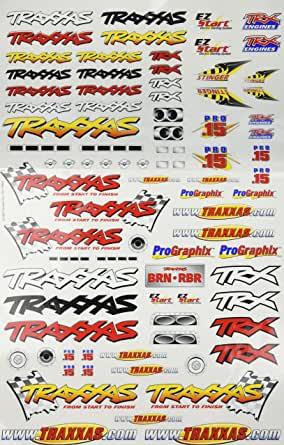 TRAXXAS AUTOCOLLANTS OFFICIEL DU TEAM TRAXXAS COMPETITION, 9950