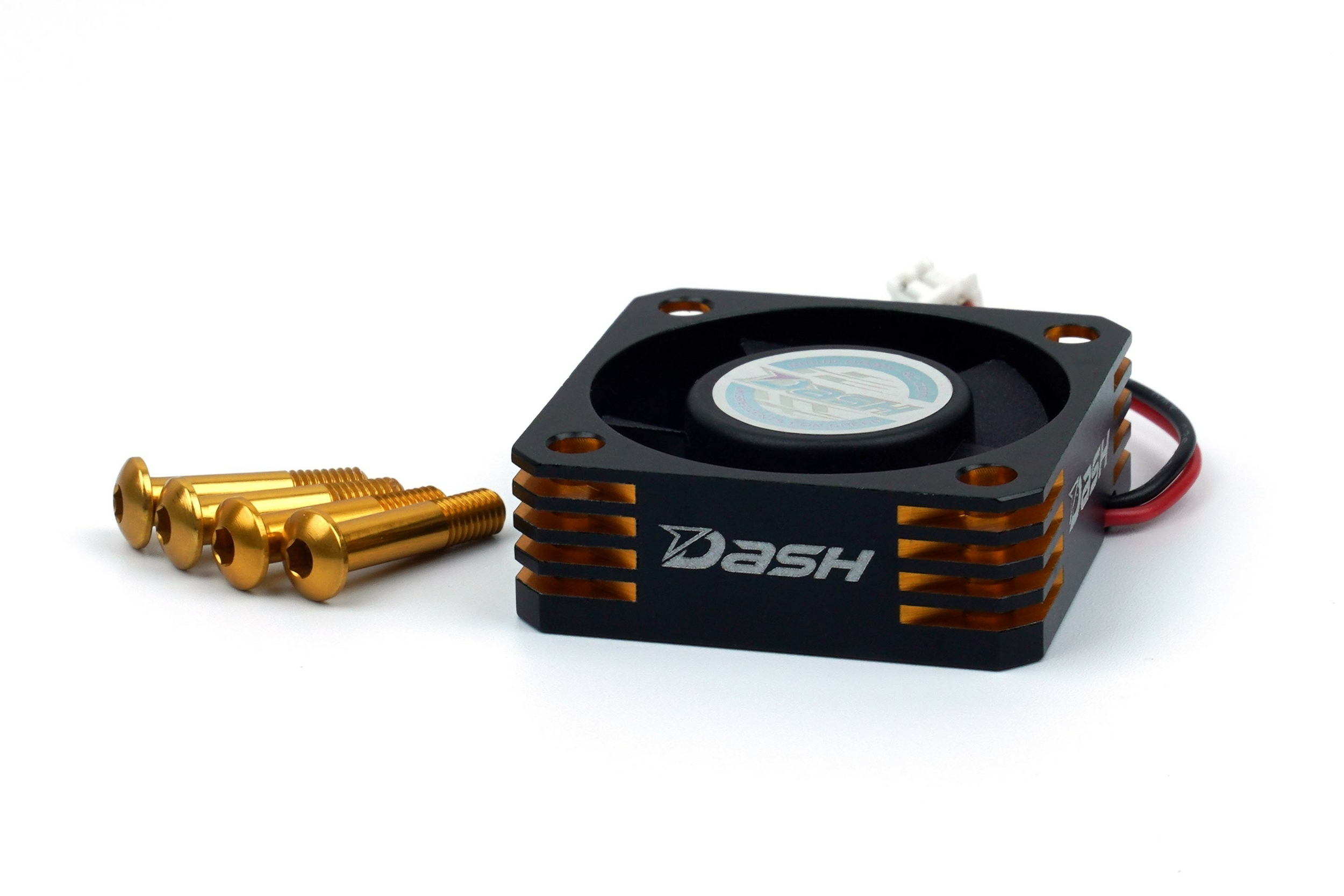 DASH VENTILATEUR VARIATEUR 30X30X10 ALU BLACK GOLDEN, DA-770107