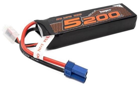 KONECT Accu Lipo 5200mah 11.1V 50C 3S1P 57.7Wh BASH (EC5), KN-LP3S5200BASH