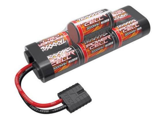 Traxxas Accu 8.4V Power Cell 3000 mah Nimh Hump ID, 2926X