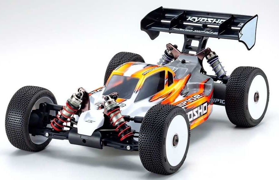 Kyosho Inferno MP10e 1:8 4WD RC EP Buggy Kit, 34110B