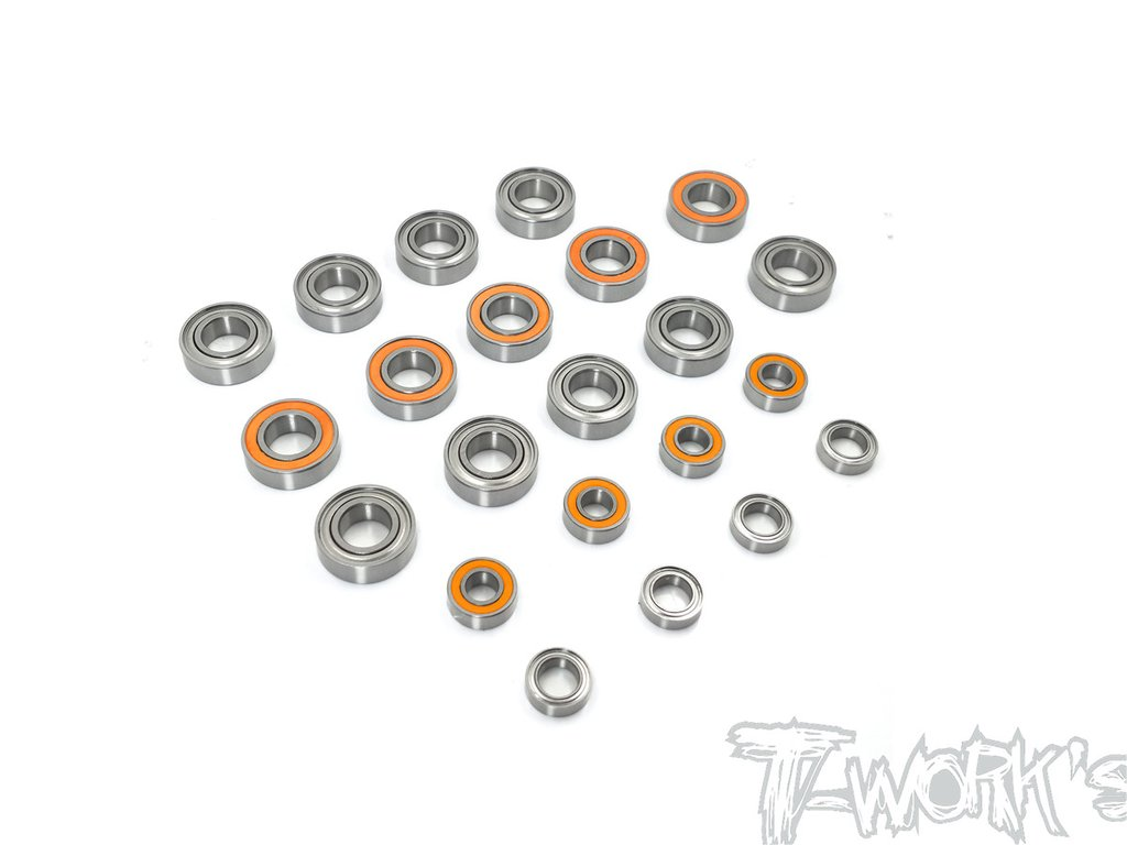 T-WORKS Kit complet de roulements étanches pour MP9-E (22pcs), BBS-MP9E