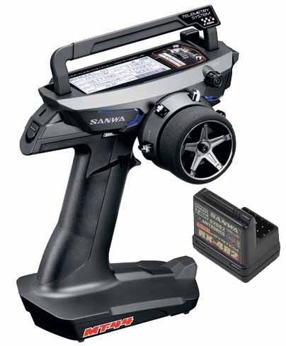SANWA RADIO MT-44 PC + RECEPTEUR RX482, 101A32171A