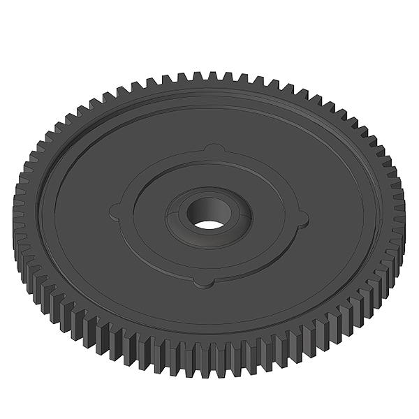 CORALLY SPUR GEAR 56T 32DP COMPOSITE, C-00250-087