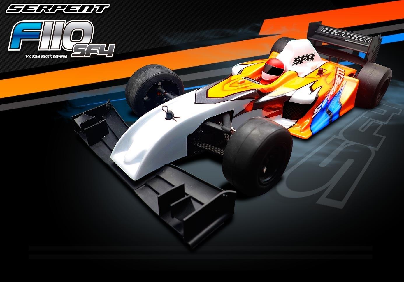 Serpent Formule 1 F110 SF4 1/10 EP KIT 410067