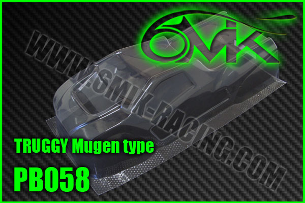 6MIK Carrosserie TRUGGY Lexan, PB058