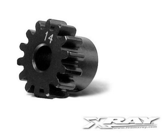 XRAY Pignon 14 dents module 1.0 - XRAY - 355714