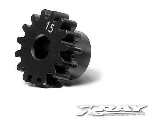 XRAY Pignon 15 dents module 1.0 - XRAY - 355715