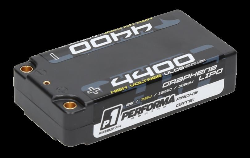 Performa Racing Graphene HV Lipo Shorty 4400 LCG 7.6V 120C PA9374