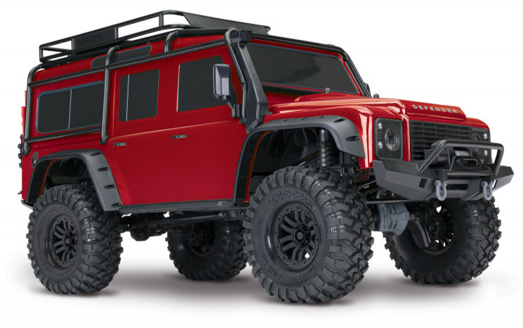 Traxxas TRX-4 Land Rover Defender Rouge RTR 82056-4