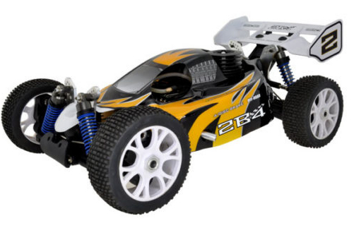 RC SYSTEM BUGGY 1/8 2B4 JAUNE 4X4 SUPER COMBO, RC850Y