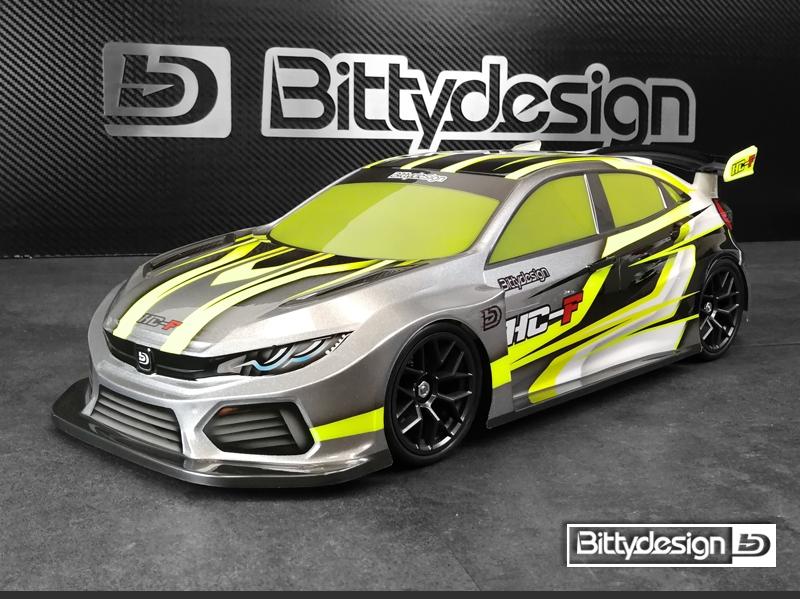 Bittydesign HC-F Clear Body (190mm FWD)  -  BDFWD-190HCF