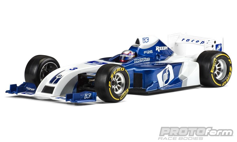 PROTOform F26 Clear Body (1:10 Formula 1)  -  PL1561-22