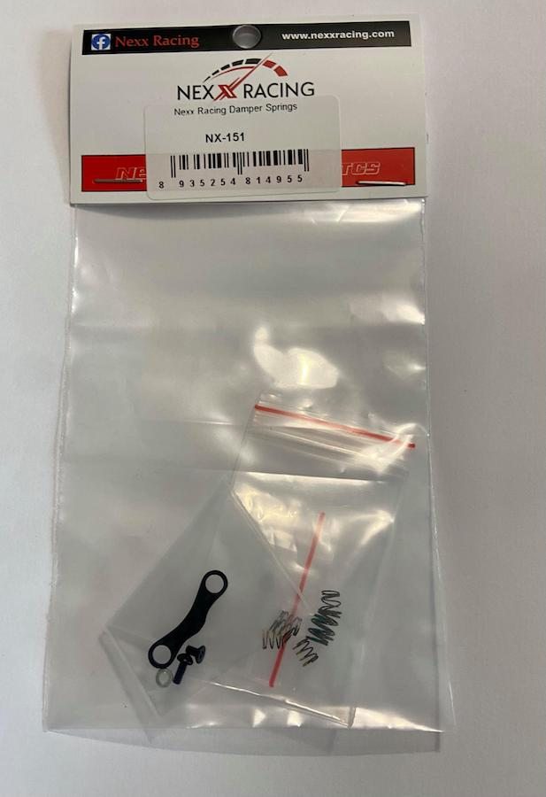 NEXX Racing Ressorts Amortisseur à Friction + support, NX-151