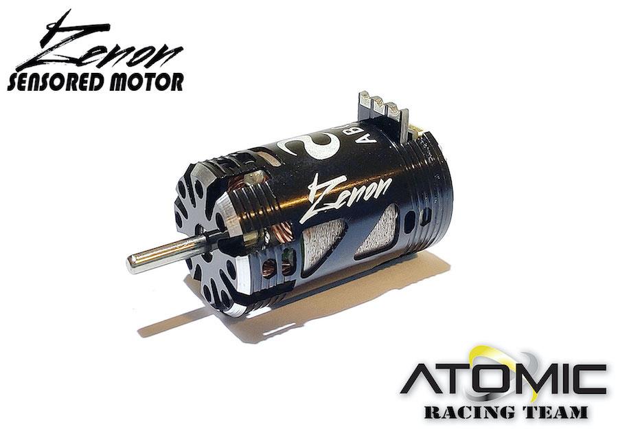 ATOMIC Moteur Zenon Brushless Sensored 6500KV,