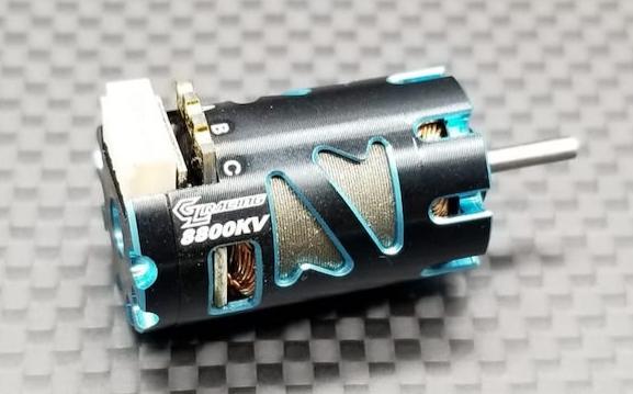 GL Racing Moteur brushless sensored 8800KV, GMM-002-sd88