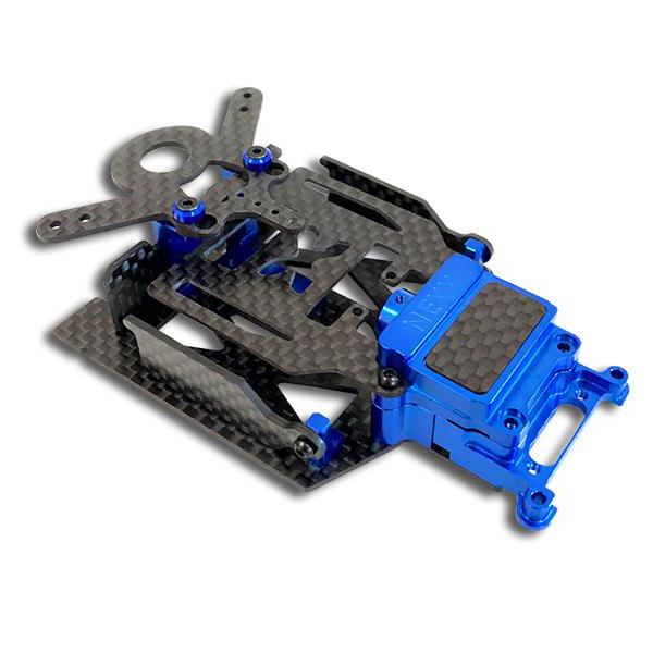 NEXX RACING Kit Châssis lipo MR03 BLEU, NX-117