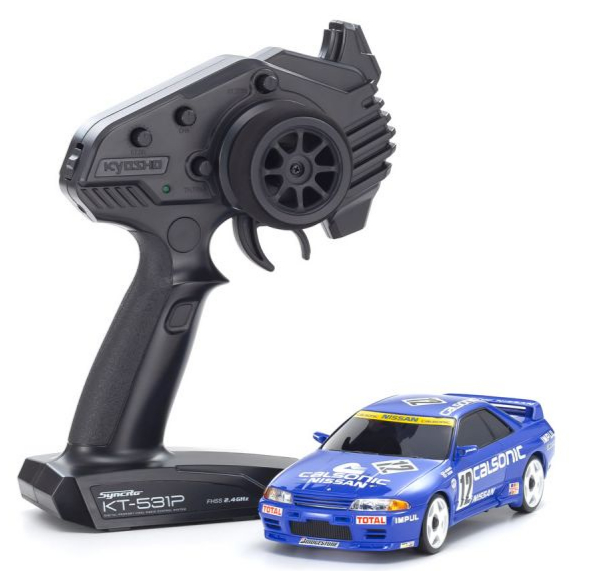 PRE COMMANDE KYOSHO Mini-Z AWD Nissan Skyline GT-R R32 Calsonic (MA-020/KT531P), 32618CS