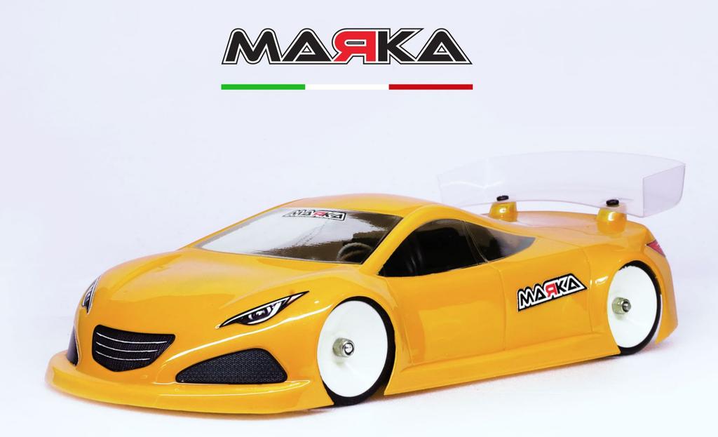 MARKA Mini-Z RK-HC Racing Lexan Body Kit (98MM W/B) régular (épaisse), MRK-8024-07
