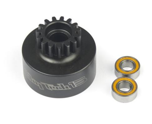 HOBBYTECH Cloche 15 T non ventilee + roulements HI-SPEED, HT-560225
