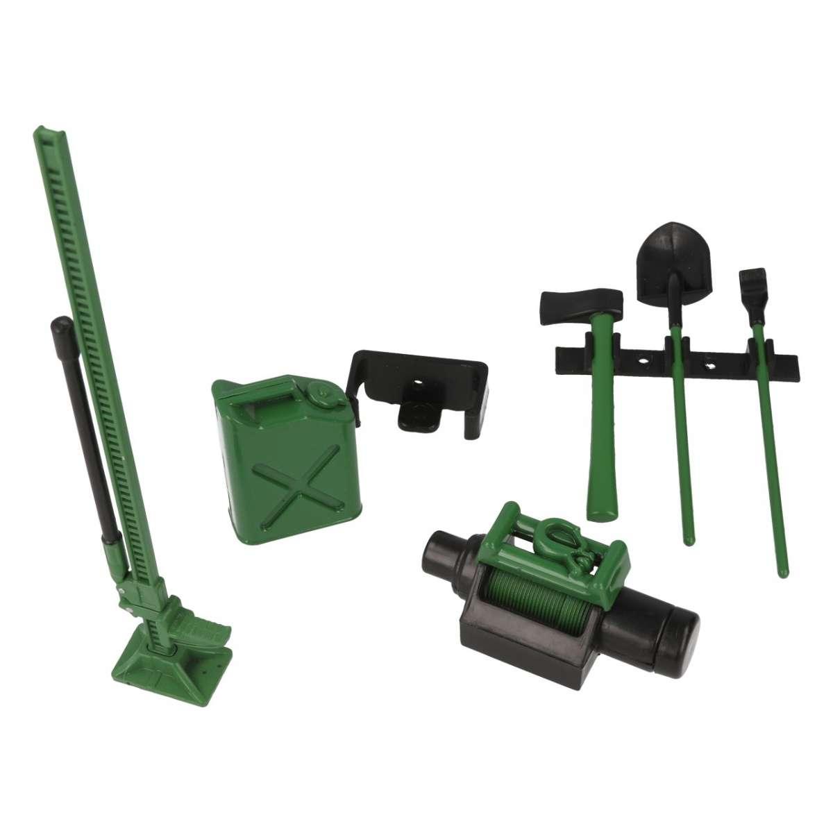 Tool kit with holder Decor Green  - R21010V