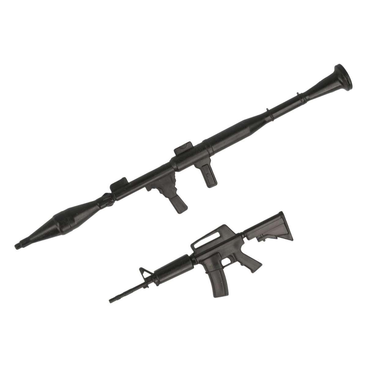 Machine gun and bazooka - R21027