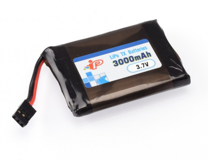 Intellect 3000mAh 3.7V 1S TX LiPo for Sanwa MT44, IP854558