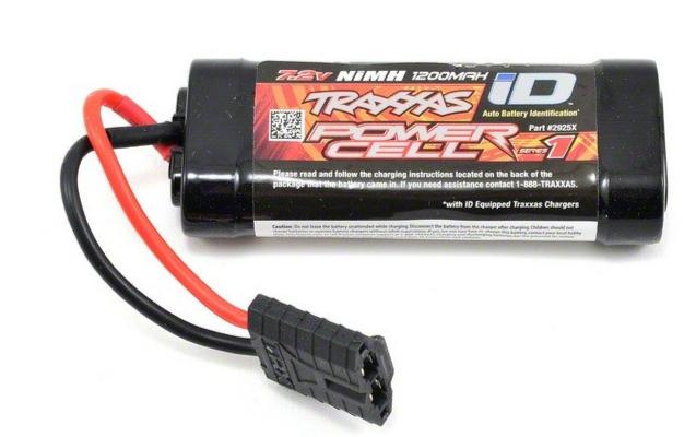 Traxxas Accu 7.2v Power Cell 1 1200 mah ID 2925X