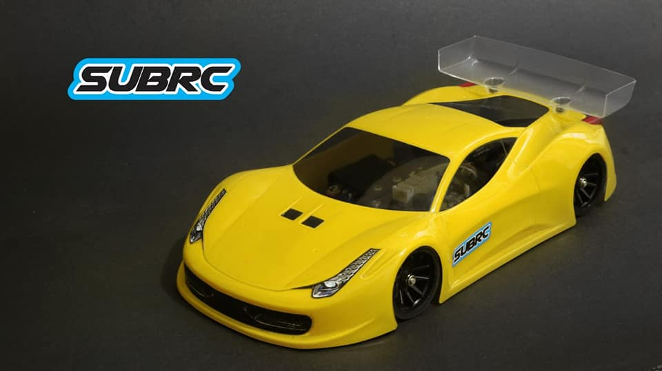 SUBRC Carrosserie 458 GT SubRC, SBRC-009