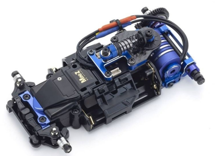 PRE COMMANDE KYOSHO Mini-Z MR03 EVO 20th Anniversary Chassis Set (N-MM2) 5600KV, 32796B
