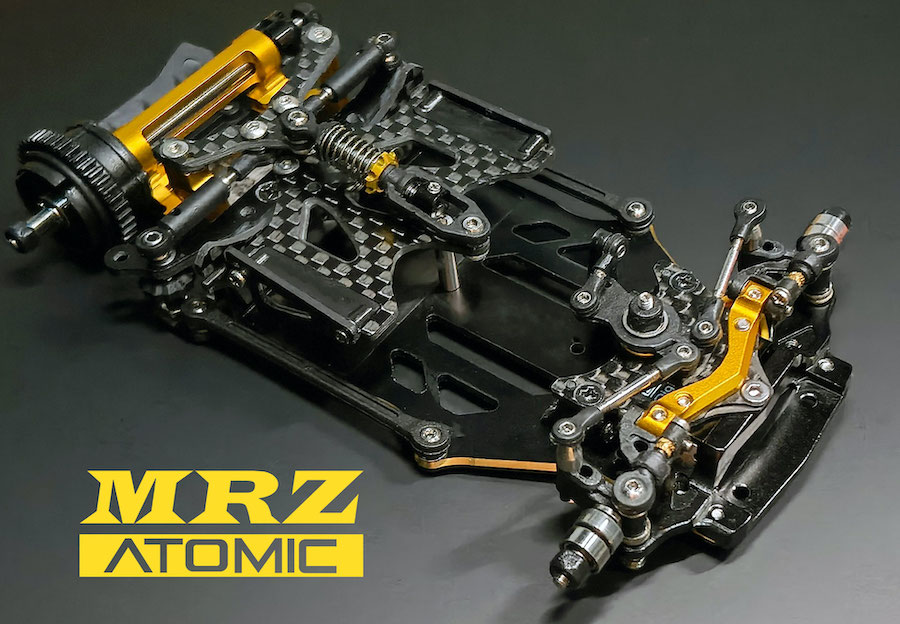 ATOMIC MRZ 2 WD (sans électronique), MRZ-KIT