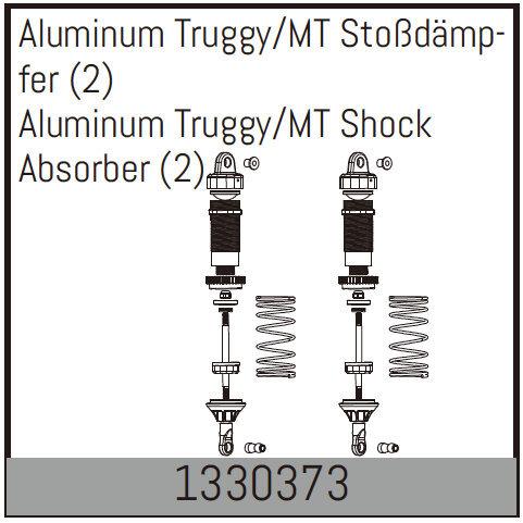 ABSIMA Amortisseur Hydraulique 1/8° Alu (la paire), 1330373